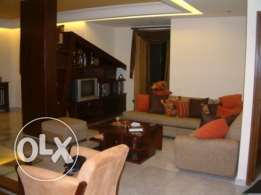 Ballouneh 190m2 duplex - mint condition - decorated - sea view