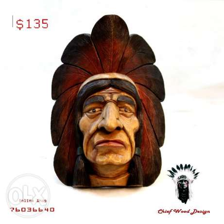 Indian wall face HAND MADE