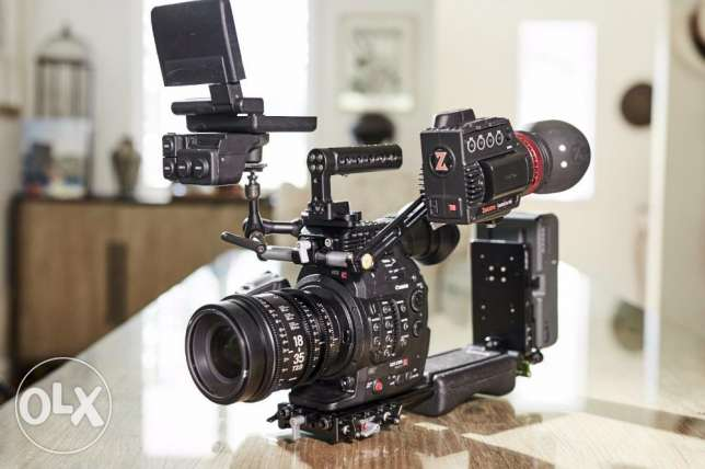 Canon EOS C300 mkii with accessories