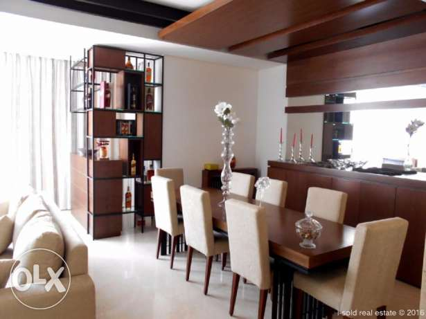 145 m2 furnished apartment with 45 m2 terrace in Nabay (hot deal)