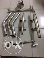 stainless steel outriggers