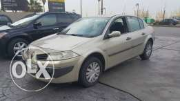 Renault Megane 2008 sedan full option no accidents one owner perfect