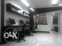 Fully Furnished / Equiped, office