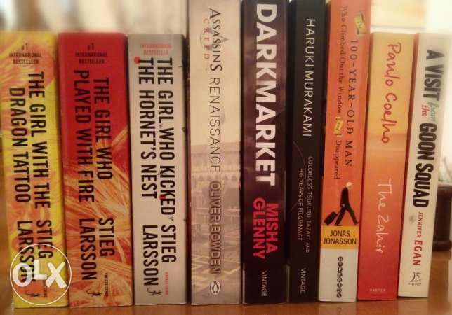 Books collection (9 books - English - various authors)