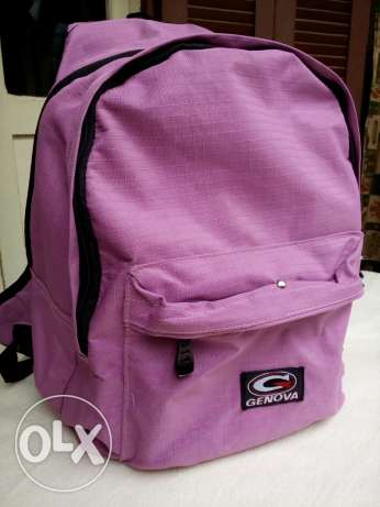 Genova backpack حقيبة