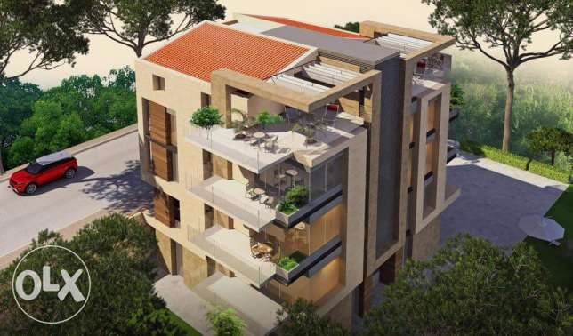 Luxurious Simplex Apartment for sale in Amchit with open sea view