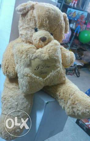 Peluche ours 90cm