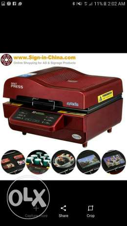 3d heat press machines