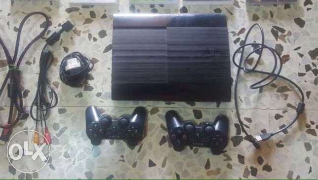 ps3 super slim المتن -  1