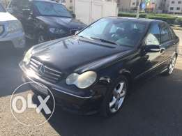 Atwi auto c230 model 2006 black black non accident