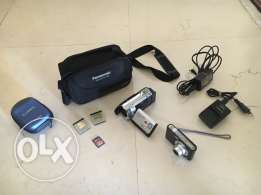 Panasonic HDC-SD60S Camcorder + Panasonic LUMIX DMC-F2 Digital Camera