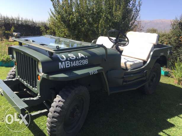 jeep Willis for sale 1942. Or مقاىضة