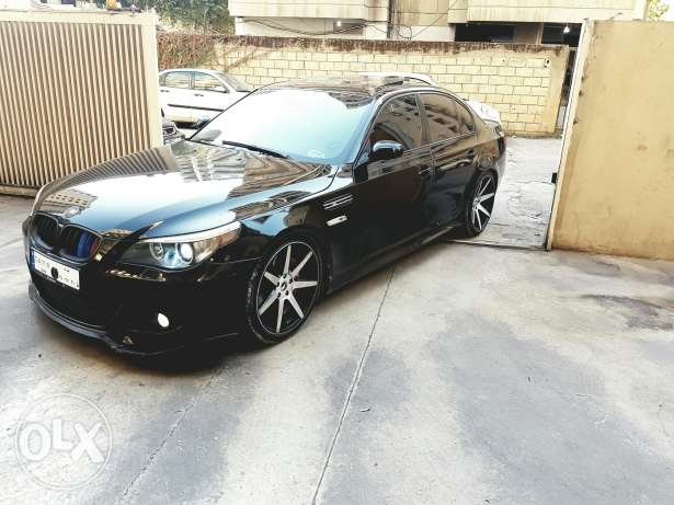 Bmw 530 model 2006 look m5 original sport package رياض الصلح -  4