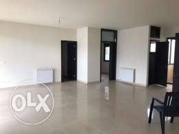 4th Floor apartment for rent in Mansourieh with Beirut & sea view