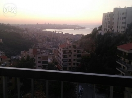 Apartment for Sale in Rabwe near Serhal hosp 185m2 Excellent view