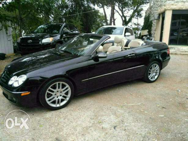 Mercedes clk 350 full option 2008 clean carfax
