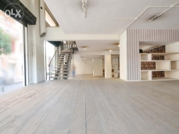 250 SQM Showroom for Rent in Beirut, Saifi Village RE3765