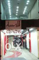 Shopp for rent includes decore& 4 ac