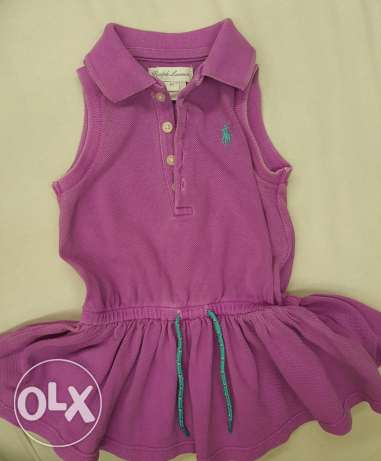 Ralph Lauren baby girl dresses and shirts