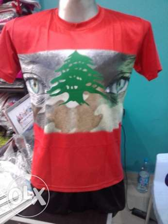 t-shirt lebanon army face