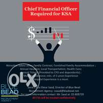 Chief Financial Officer Required for KSA