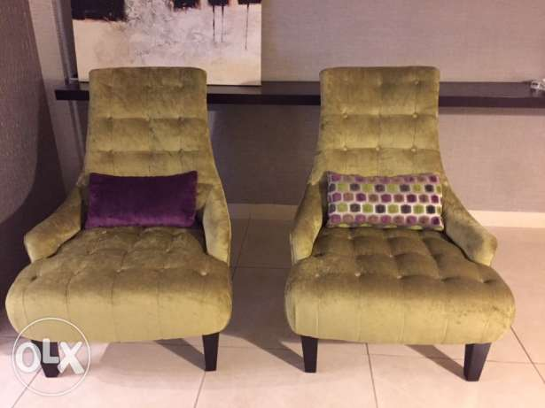 2 Chairs in an excellent condition