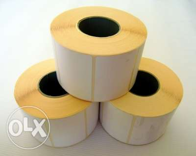 Roll 750 Thermal Scale Labels 58 x 40mm الصالحية -  2