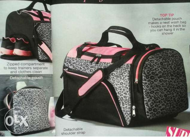 Avon new gym bag