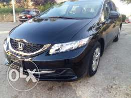 Honda CIVIC 2013 black