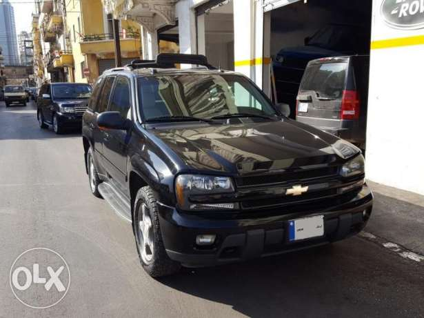 Trail Blazer LTZ-2005-Black-Beige Leather-Sunroof-0 Accidents-1 Owner أشرفية -  2