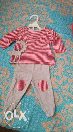 Clothes for baby boy 0 -3 m like new