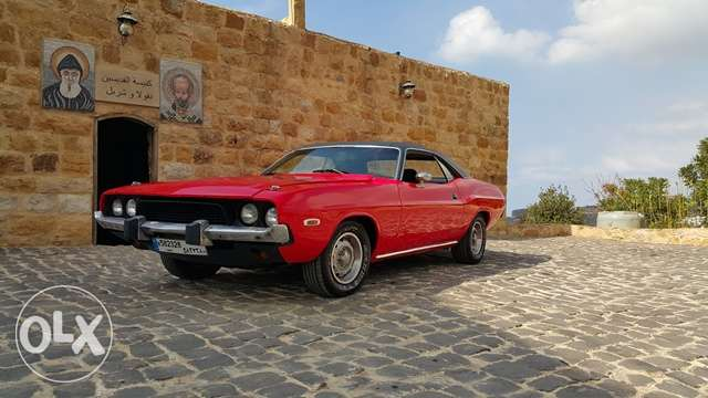 Dodge Challenger 1973 - All original 318 ci-20k negotiable or trade المرفأ -  1