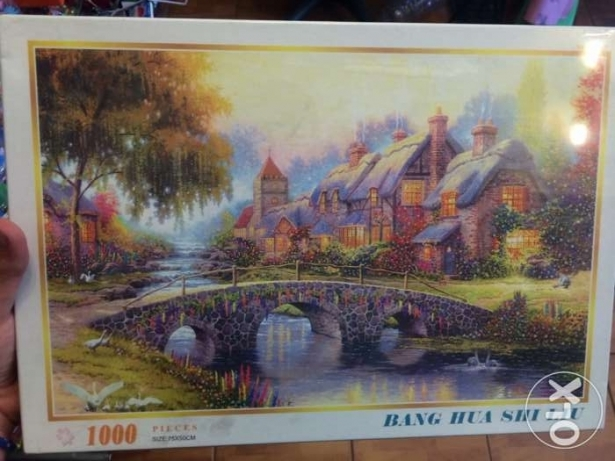 Brand New 1000 Pieces Puzzle
