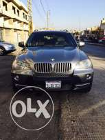 bmw x5 model 2008 ajnabe super clean ful option sport bagedg 7 ma2a3ed