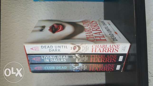 Dead Until Dark by Charlaine Harris Trilogy
