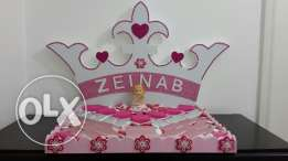 chocolate tray for baby girl