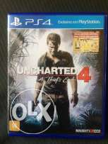 ps4 game Uncharted 4 used for trade
