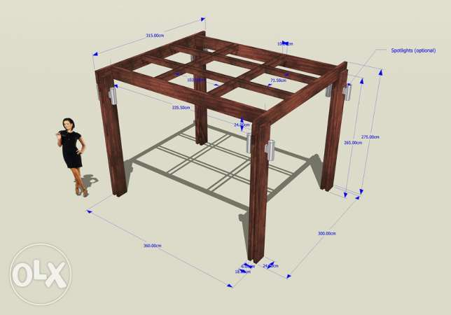 3D DESIGNER for your PERGOLA and outdoors انطلياس -  2