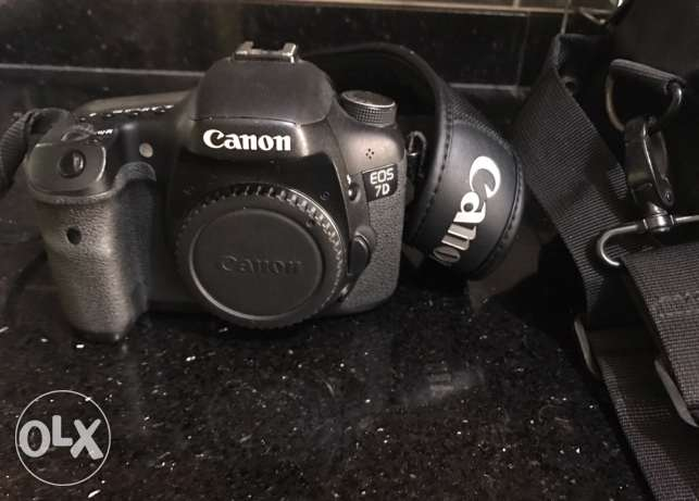 canon 7d for sale gd condition.