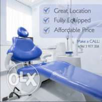 Clinic for Rent / fully Equipt/ Per appointment, monthly, daily