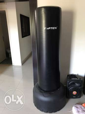 standing boxing bag