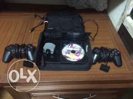 PlayStation 2 for sale in good condition with eye toy and 1cd 2 consol