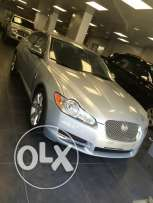Jaguar xf model 2010 silver