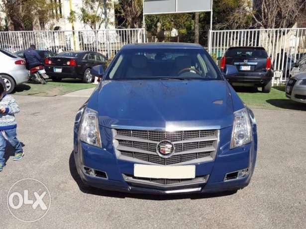 2009 Cadillac CTS 3.0L Blue/Beige Leather Company Source & Maintenance
