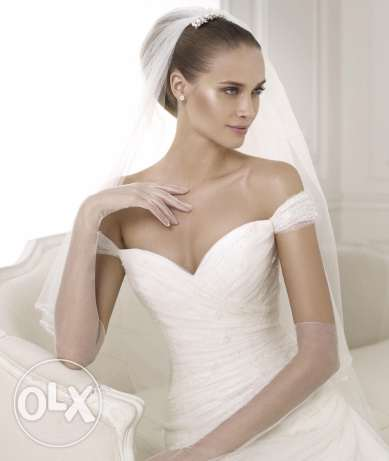 Wedding dress, used once For sale بيت الشعار -  3