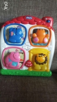 Chicco talking puzzle french & eng. starting 9months + cubes as gift