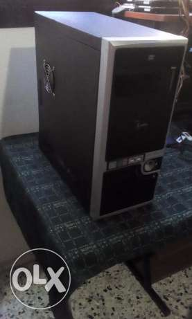 computer for sale cpu core 2 dou hdd 320gb 2gb ram dvd