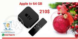 Apple TV 2 4 TH gen 32 and 64 gb storage