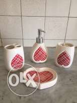 set porcelaine for bathroom