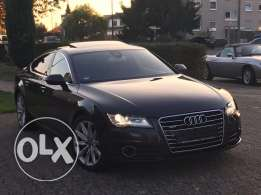 Audi A7 3.0T 2012 black on black,GERMAN, tuned by ABT !!!